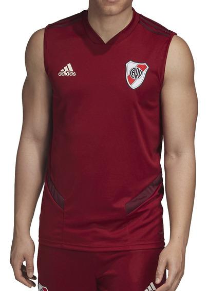 Musculosa adidas Futbol River Plate Trainning Hombre Bd
