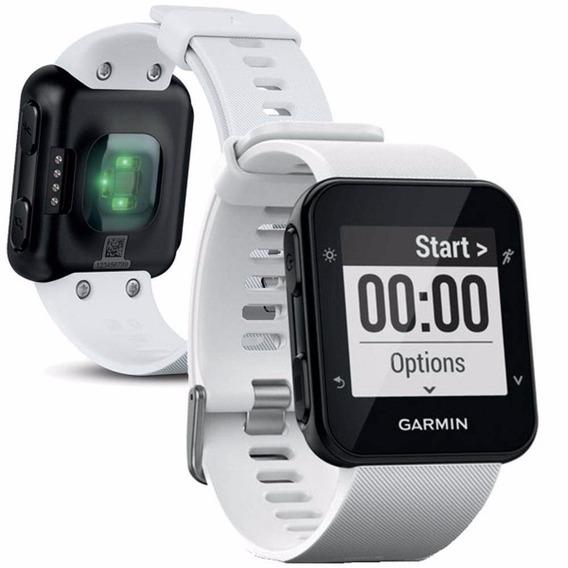 Relógio Monitor Cardíaco Garmin Forerunner 35 Gps Branco