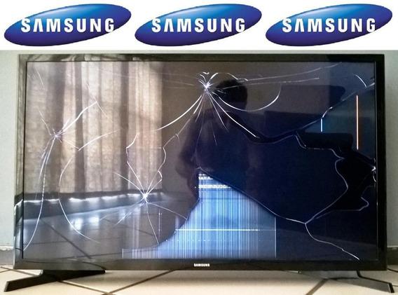 Samsung Un32j4000ag 32 Lcd Tv Monitor, Defeito