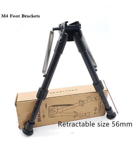 Imagem 1 de 6 de Bi Pe Retratil Tatico Dmr-sniper-carabina -para 20,22mm