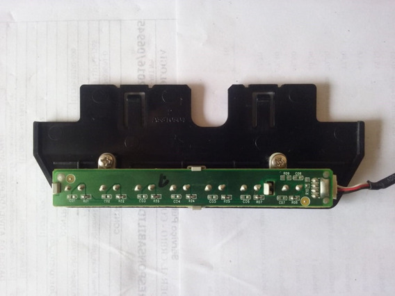 Teclado Controles On Off Tv Aoc L26w831a A33t0304 - 2778