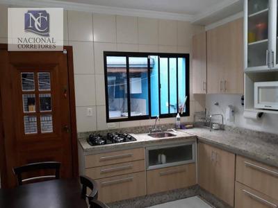 Sobrado Residencial À Venda, Parque Das Nações, Santo André. - So2947