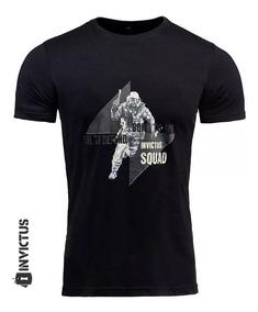 Camisa Tática T-shirt Concept Invictus Blive Policial Preta