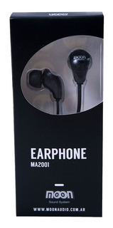 Auriculares Profesional Intraural In Ear Moon Ma2001 - Color