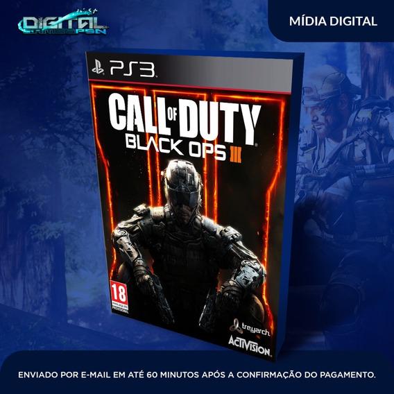 Call Of Duty Black Ops 3 Ps3 Psn Jogo Digital Envio 1 Hora