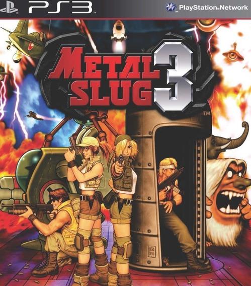 Metal Slug 3 Ps3 Psn Digital Envio Imediato