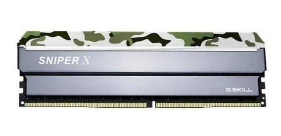 Memoria Ram Ddr4 Gskill Sniper X Cammo 1x8gb 2400mhz