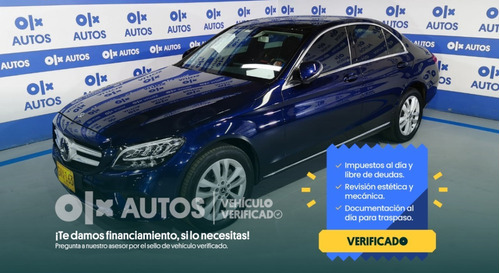 Mercedes Benzc 180-w205 Avantgarde Tp 1.6lt 154hp-2020