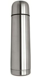 Termo Bala Acero Inox 1 L En/ Caja Tapon Matero Oferta
