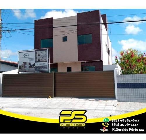 Apartamento Com 2 Dormitórios À Venda, 60 M² Por R$ 145.000,00 - Ernesto Geisel - João Pessoa/pb - Ap2248