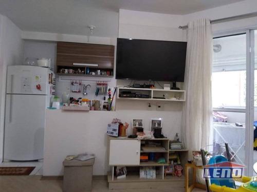 Apartamento Com 2 Dormitórios À Venda, 50 M² Por R$ 260.000,00 - Chácara Cruzeiro Do Sul - São Paulo/sp - Ap0515