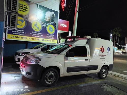 Imagem 1 de 5 de Fiat Fiorino Ambulancia  Ambulancia Greencar