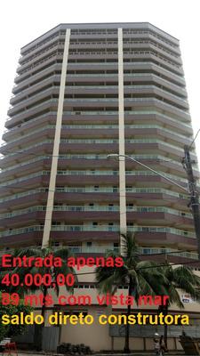 Apartamento Com Vista Mar Sem Comprovação De Renda Praia!!!