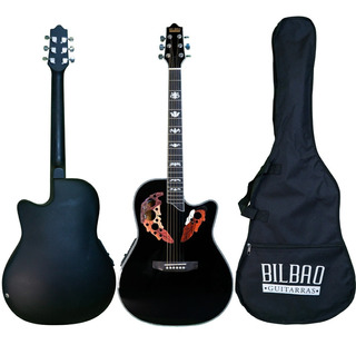 Guitarra Electroacústica Bilbao Bil-800ce-bk + Envío Gratis