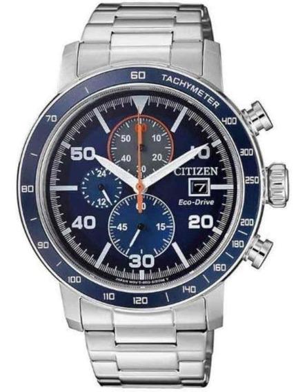 Relógio Masculino Citizen Cronógrafo Tz31187f Eco-drive