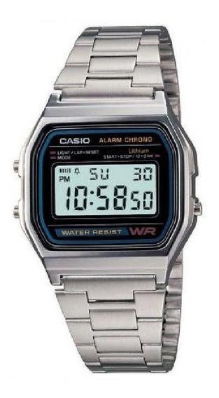 Relógio Casio Vintage Ac Prata