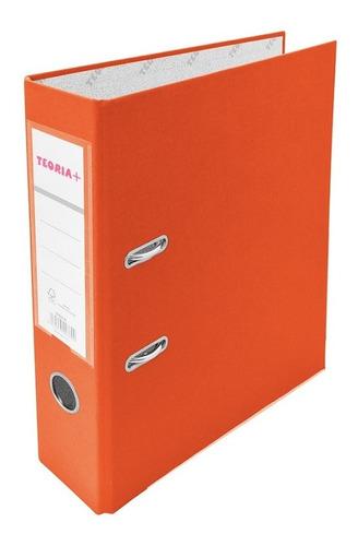 Bibliorato A4 Ancho Naranja Teoría+