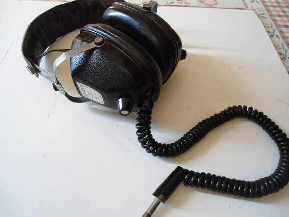 Headphone Dam Modelo 331 Original - Made In Brazil Anos 80!
