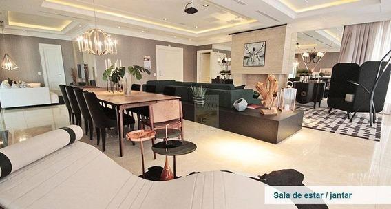 Apartamento Com 4 Dormitórios À Venda, 313 M² Por R$ 16.750.000,00 - Centro - Balneário Camboriú/sc - Ap0073