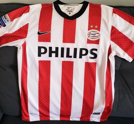 Camisa Psv 2010 2011 #22 Dzsudzsak