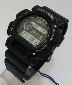 Relógio Atlantis Original Digital Barato Masculino