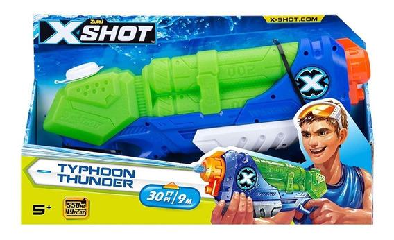 Pistola Agua Escopeta Xshot Typhoon Thunder Original Zuru