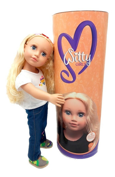 Witty Girls Anna Muñeca 45cm /18 Pulg American Our