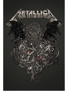 Placa - Quadro - Decorativo - Metallica - (v245)
