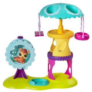 Littlest Pet Shop Playtime Park With Russell Ferguson Playse