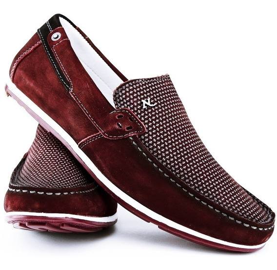 Sapato Casual Social Nevano Masculino 4317 Vinho