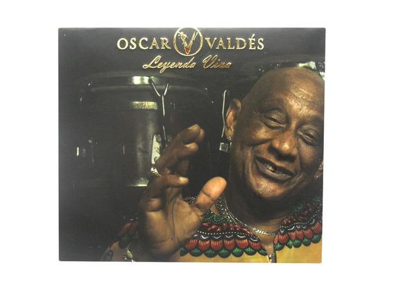 Cd Duplo Oscar Valdes Legenda Viva Original Lacrado