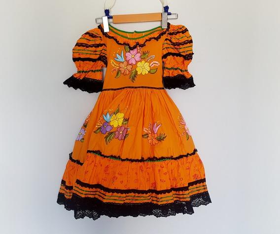 Vestido Infantil Fantasia Festa Junina Julina Chapéu Faixa