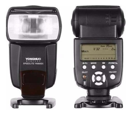 Flash Yongnuo Yn565ex Ttl Compatível Somente Câmeras Nikon