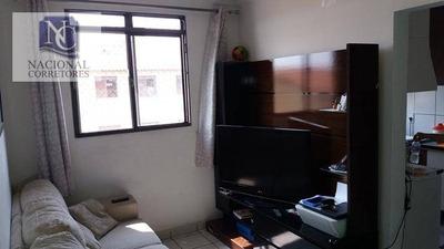 Apartamento Com 2 Dormitórios À Venda, 44 M² Por R$ 175.000 - Parque Das Nações - Santo André/sp - Ap6313