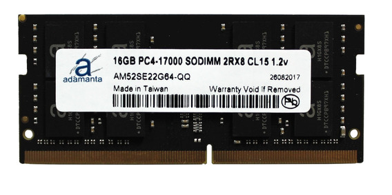 Memoria Ram 16gb Adamanta (1x16gb) Upgrade Compatible Para Lenovo Flex 4 Ideapad Thinkpad Yoga Ddr4 2133mhz Pc4-1