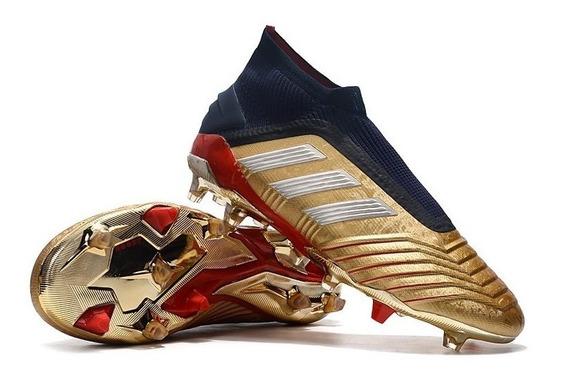 Tacos adidas Predator 19+ Fg Zidane/beckham Edición