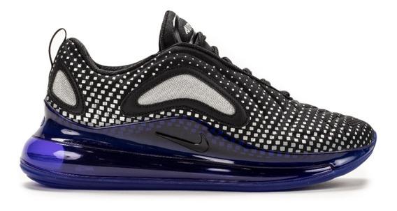 Nike Aire Max 720 Pixel Black Blue Nuevas