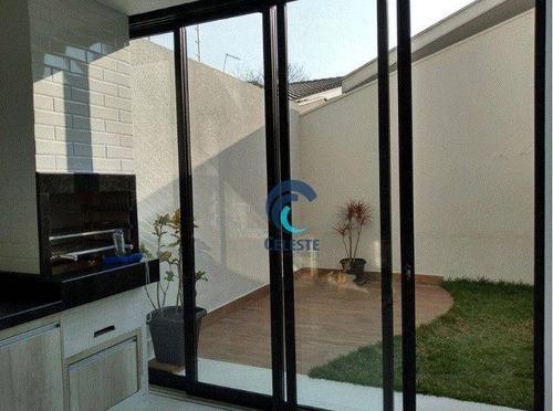Imagem 1 de 10 de Sobrado Com 3 Dormitórios À Venda, 140 M² - Jardim Das Indústrias - Ca0996
