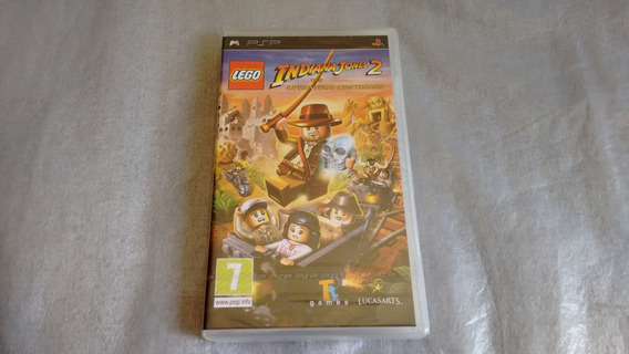 Lego Indiana Jones 2 The Adventure Continues Para Psp