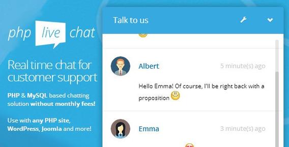Script Php Atendimento Online Chat (php, Wordpress, Joomla)