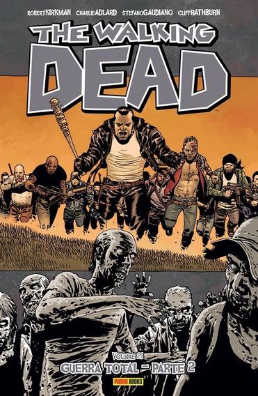 The Walking Dead 21! Panini! Em Portugues! Novo E Lacrado!