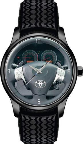 Relógio De Pulso Personalizado Painel Toyota Corolla 2011 Bc