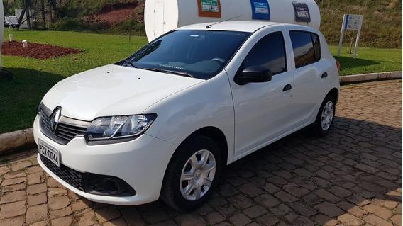 Renault Sandero 2018 1.0 Branco Completo
