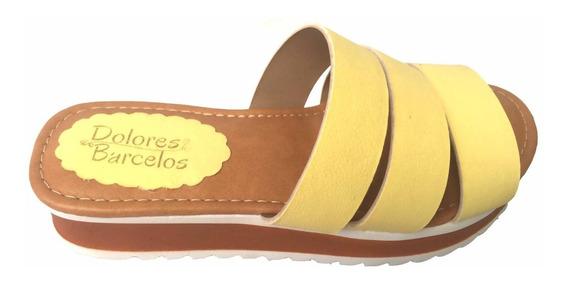 Sandalia Flat Confort Dolores Barcelos Adulto