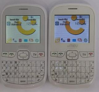Celular Meu Sn45 Branco Original Com Avaria Sem Garantia