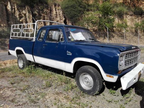 Dogde D100 2.200 Pick Up Azul Y Blanco