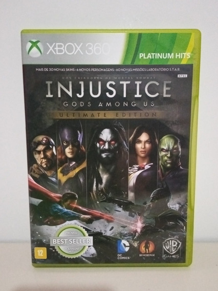Injustice Gods Among Us Ultimate Edition Xbox 360 M/física