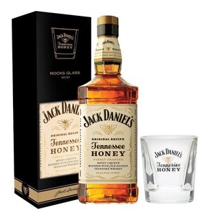 Whiskey Jack Daniels Honey +1 Vaso C/estuche Tennessee Whisk