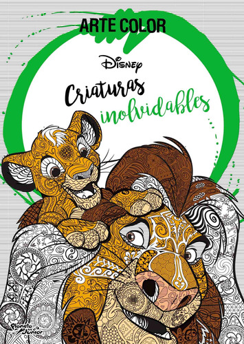 Imagen 1 de 3 de Arte Color. Criaturas Inolvidables De Disney