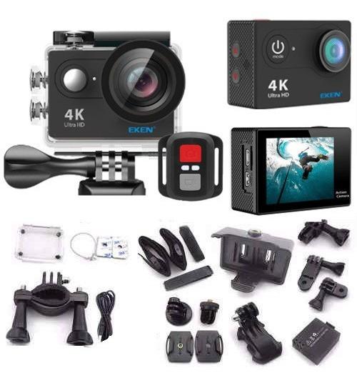 Câmera Eken H9r 4k Filmadora Wi-fi Controle - Sem Embalagem